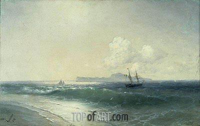 Tallinn Harbour, 1898 | Aivazovsky | Painting Reproduction
