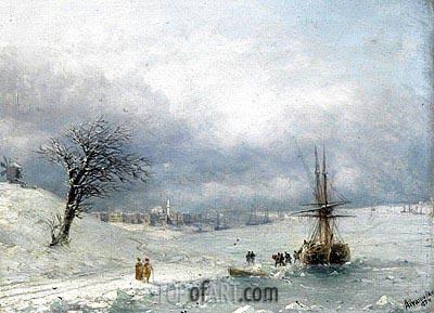 Aivazovsky | Winter Landscape, 1874