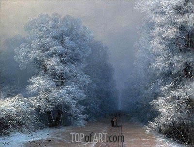 Aivazovsky | Winter Landscape, 1881