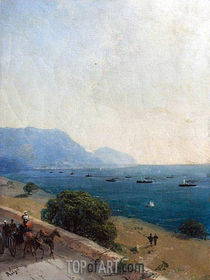 Black Sea Fleet, 1893 | Aivazovsky| Painting Reproduction