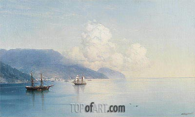 The Bay of Yalta,  | Aivazovsky | Painting Reproduction