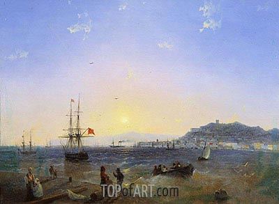 Kerch, 1839 | Aivazovsky| Painting Reproduction