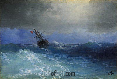 Marine,  | Aivazovsky | Painting Reproduction