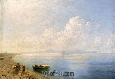 Calm Waters, 1880 | Aivazovsky| Painting Reproduction