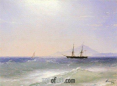 Aivazovsky | View of Ischia, 1874