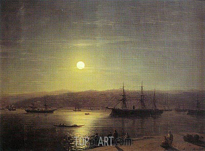 Constantinople, 1874 | Aivazovsky| Painting Reproduction