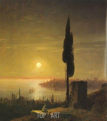 Aivazovsky | Constantinople, 1848
