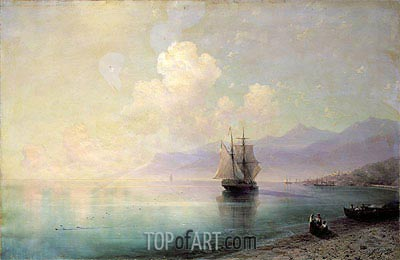Bordighera, 1888 | Aivazovsky | Painting Reproduction