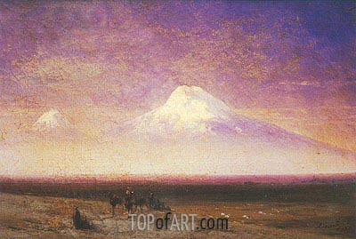 Mount Ararat, 1885 | Aivazovsky | Painting Reproduction