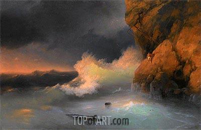 Aivazovsky | The Survivor, undated