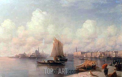 Venice, 1882 | Aivazovsky | Painting Reproduction