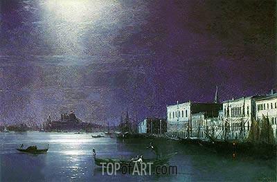 Aivazovsky | Venice by Night, 1886
