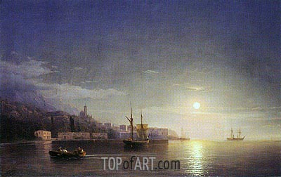 Yalta, 1853 | Aivazovsky| Painting Reproduction