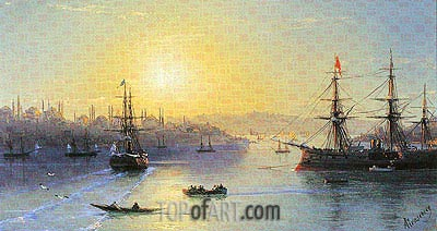 Constantinople, undated | Aivazovsky | Painting Reproduction