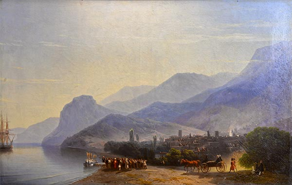 Alushta, 1878 | Aivazovsky| Painting Reproduction
