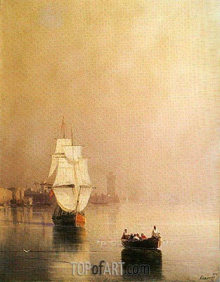 Rhodes, 1874 | Aivazovsky| Painting Reproduction