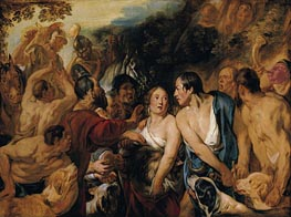 Meleager and Atalante | Jacob Jordaens | outdated