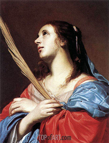 Female Martyr, undated | Jacob van Oost | Painting Reproduction