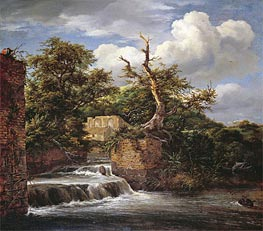 A Wooded Landscape with Mill | Ruisdael | veraltet