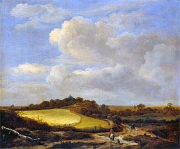 The Wheatfield, undated by Ruisdael | Painting Reproduction