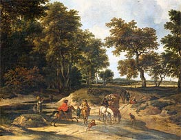 The Benefits | Ruisdael | Gemälde Reproduktion