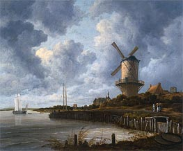 The Mill at Wijk-bij-Duurstede | Ruisdael | Gemälde Reproduktion