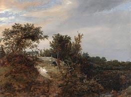 A Landscape with a Stream | Ruisdael | Gemälde Reproduktion