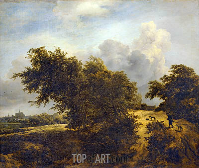 Ruisdael | The Bush, 1856