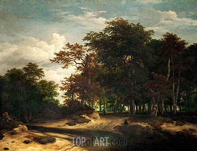 The Big Forest, c.1655/60 | Ruisdael| Painting Reproduction