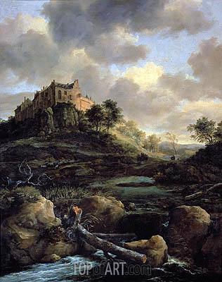 Ruisdael | Bentheim Castle, 1653
