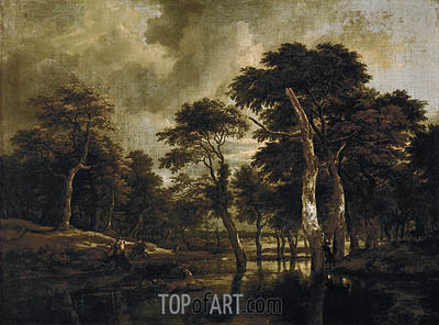 Ruisdael | The Hunt, c.1665/70