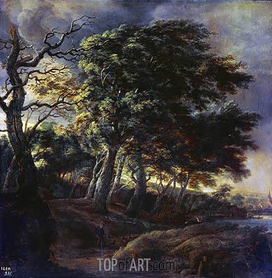 Ruisdael | Landscape, 1650