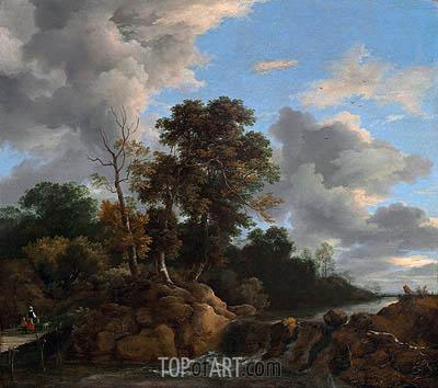 Ruisdael | Landscape, c.1670