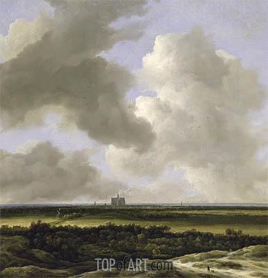 Panoramic View of Haarlem, c.1670 | Ruisdael | Gemälde Reproduktion