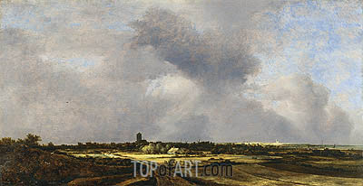 View of Naarden, 1647 | Ruisdael| Painting Reproduction
