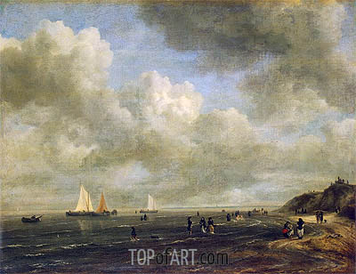 Seashore, c.1665/75 | Ruisdael | Gemälde Reproduktion