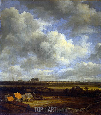 View of Haarlem, c.1670 | Ruisdael | Painting Reproduction