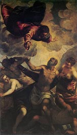 The Temptation of St. Anthony, c.1577 von Tintoretto | Gemälde-Reproduktion