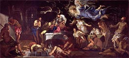 St. Roch Visited by an Angel in Prison, 1567 by Tintoretto | Painting Reproduction