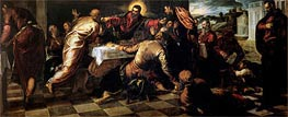 The Supper at Emmaus, Undated by Tintoretto | Painting Reproduction