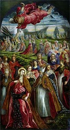 St. Ursula and the Eleven Thousand Virgins, Undated by Tintoretto | Painting Reproduction