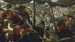 The Abduction of Helen, c.1578 by Tintoretto | Painting Reproduction