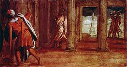The Prostration of Bathsheba, c.1548 by Tintoretto | Painting Reproduction