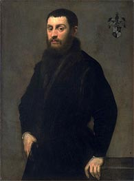 Young Man from the Renialme Family, c.1547/48 by Tintoretto | Painting Reproduction