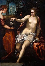 Susanna, c.1575 by Tintoretto | Painting Reproduction