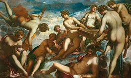 The Muses, c.1578 by Tintoretto | Painting Reproduction