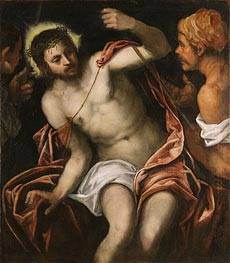 Christ Crowned with Thorns, undated by Tintoretto | Painting Reproduction