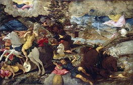 The Conversion of Saint Paul, c.1545 by Tintoretto | Painting Reproduction
