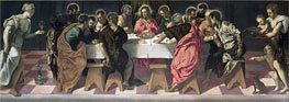 The Last Supper, 1547 by Tintoretto | Painting Reproduction