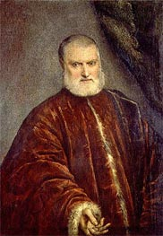 Portrait of Procurator Antonio Cappello, c.1551 by Tintoretto | Painting Reproduction